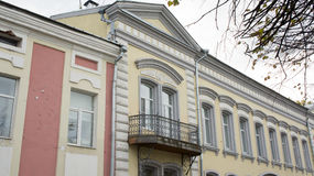 Old house in Tver. Royalty Free Stock Images