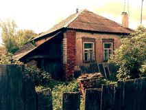 Old house in Ukraine Royalty Free Stock Image