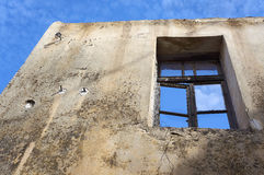 Old house under demolition Royalty Free Stock Images