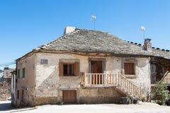 Old house in Valverde de los Arroyos Stock Photos