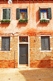 An Old house in Venice. Royalty Free Stock Images