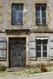 Old house in Vezelay Stock Photo