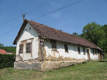 Old house in the village Gazije to Croatia Royalty Free Stock Photos