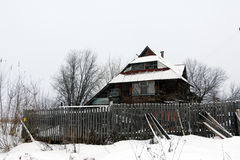 Old house in village Royalty Free Stock Images