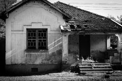 Old House. In the ville near a florest in Rio Claro royalty free stock images