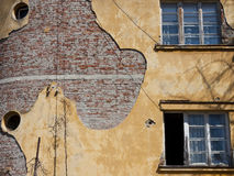 Old house wall Royalty Free Stock Photos