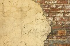 Old house wall background Stock Images