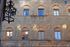 Old house wall in Florence Royalty Free Stock Photo