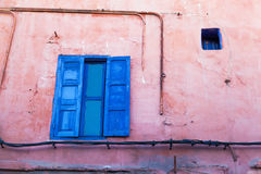 Old house wall in Marrakesh Royalty Free Stock Photography