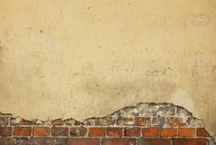 Old house wall - nice background with space for text Royalty Free Stock Image