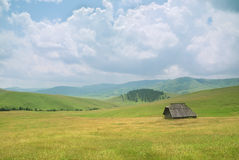 Old house in western Serbia. An old house on mountain Zlatibor, famous tourist resort in western Serbia Stock Images