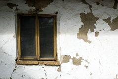 Old house window Stock Images