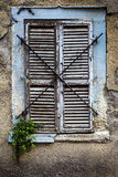 Old House Window. An Old House Window High Detailed Stock Photo