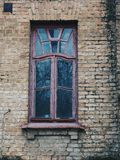 Old house window,Kiev.  Stock Images