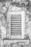 Old house window. Photograph of an old house window, Mallorca, Spain Royalty Free Stock Photo