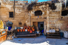Old house yard in Kabadokia Stock Images