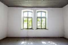 Old houseempty rooms Stock Photo