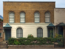 Old Houses. In Hackney Road, London royalty free stock photos