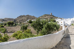 Old Houses. Are a typical Andalusian houses stock image