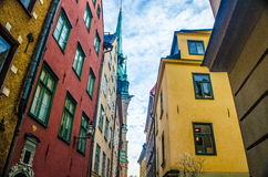 Old town Stockholm, Sweden Royalty Free Stock Photography