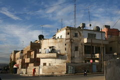 Old Houses. Which make nice viw in the old aria in Amman (capital of Jordan stock photos