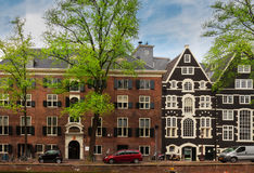 Old houses in Amsterdam Royalty Free Stock Photo
