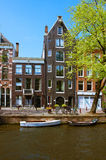 Old houses in Amsterdam Stock Photos