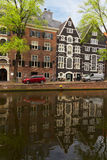 Old houses in Amsterdam Royalty Free Stock Photos