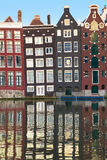 Old houses of Amsterdam Stock Image