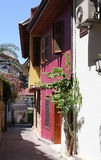 Old houses in Antalya, Turkey Stock Image