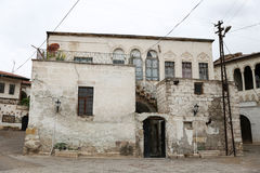 Old Houses in Avanos Town, Turkey Royalty Free Stock Photos