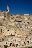 Old town. Matera. Basilicata. Apulia or Puglia. Italy royalty free stock images