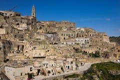 Old town. Matera. Basilicata. Apulia or Puglia. Italy stock photo
