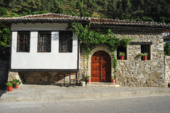 The old houses of Berat on Albania Royalty Free Stock Images