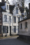 Old houses in Bruges Royalty Free Stock Photo