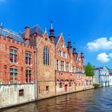 Old Houses of the Brugse Vrije, Bruge Stock Image