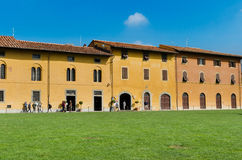 Old houses, Cathedral Square, Pisa Royalty Free Stock Photo