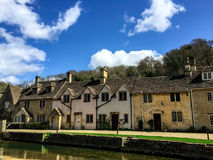 Old houses in Combe Castle village, UK Stock Photography