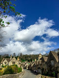 Old houses in Combe Castle village, UK Stock Images