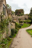 Old houses in Cotswold district of England Royalty Free Stock Photo