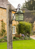 Old houses in Cotswold district of England Royalty Free Stock Images