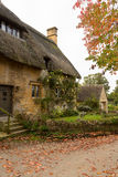 Old houses in Cotswold district of England Stock Photo