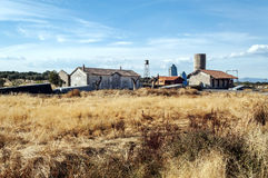 Old houses in the countryside Royalty Free Stock Photography