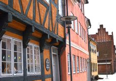 Old houses in Denmark Stock Photo