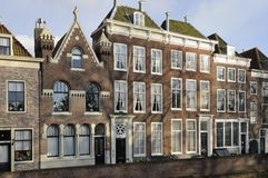 Old houses detail, middelburg Royalty Free Stock Photos