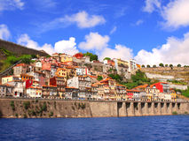 Old houses and Douro river, Porto, Portugal Stock Photography