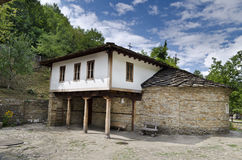 Old houses in the Etar Museum Royalty Free Stock Photography