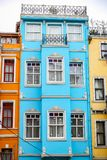Old Houses in Fener District, Istanbul, Turkey Stock Images