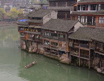 Old houses in Fenghuang, China Stock Photos