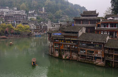 Old houses at Fenghuang Town, China Stock Image